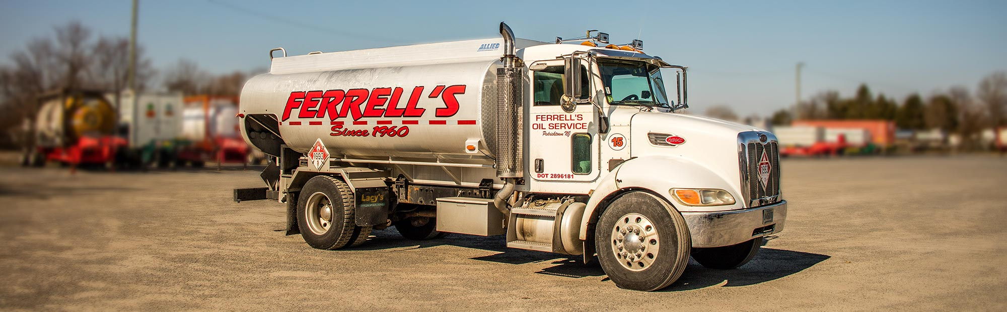 Ferrell Oil Delivery Truck